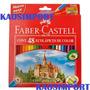 Lapices Faber Castell Colores Largos X 48 Unidades
