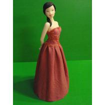 Molde Barbie Para Porcelana Fria Y Pastas Comestibles.rigido