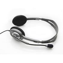 Auricular Headset Vincha Logitech H110 Con Microfono Skype