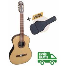 Guitarra Criolla Clásica La Alpujarra Modelo 75 C/ Funda
