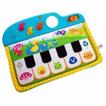 Piano Cuna Para Bebé De Tela Musical Con Animales Winfun