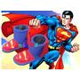 Pantuflas Pantubotas Superman,iron Man, Capitan America