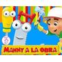 Kit Imprimible Manny A La Obra Diseñá Tarjetas Cotillon 1