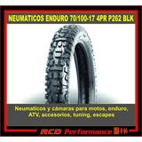 Cubierta Neumatico Con Taco Para Enduro 70/100-19 P262 B