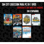 Sim City Coleccion Para Pc En Español (7 Dvds)