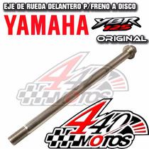 Eje Rueda Delantero Yamaha Ybr 125 C/disco Orig. Motos440!!!