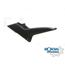 Cacha Lateral Bajo Tanque Izquierda Mondial Ex 150 (negra)