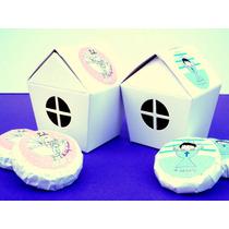 Souvenir Baby Shower Casitas Con Jabones Kit X 10