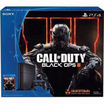 Combo Sony Ps4 500gb 1215a + Cod Black Ops Iii Fisico