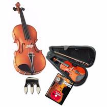 Violin De Estudio Stradella 4/4 Estuche Arco Resina Sordina