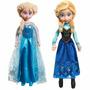 Muñecas Peluche Anna O Elsa Frozen 40 Cm Orig Disney Store