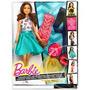 Barbie Crea 20 Estilos Fashion Mix Match Muñeca Barbie Matte