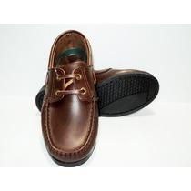 Zapatos Náuticos Febo Colegiales Para Niño - Niña