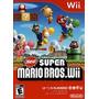 New Super Mario Bros Wii Nuevo Sellado Original.