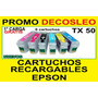 Cartucho Recargable Epson T50 R290 1430w R1410