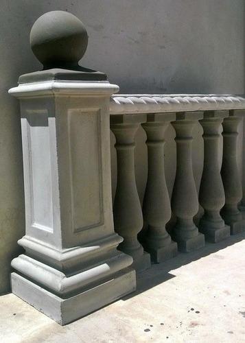pedestales columnas barandas y balaustres de cemento 400