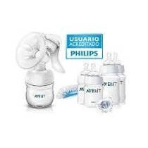 Oferta!combo Sacaleche Avent Natural+set Mamaderas+chupete+