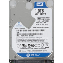 Hd 1 Tb P/notebook Wd S-ata Iii 5400 8mb - 9mm Wd10jpvx