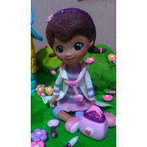Doctora Juguete Porcelana Fria,adorno Para Torta