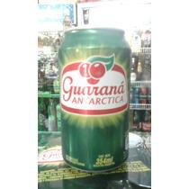 Guarana Antarctica ,hecha En Argentina 354 Ml,lata Llena