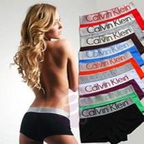 Boxer Calvin Klein De Mujer Clasicas Por Unidad