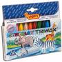 Crayones Crayon Plastipinturitas Jovi Triwax Trimax X 12 U.