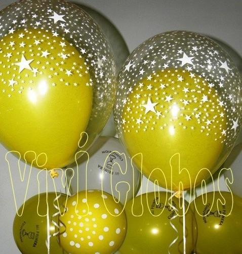 Globos dobles con gas helio uno dentro de otro 35 flbcm - Gas helio para globos precio ...