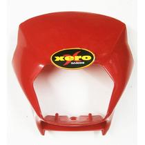 Cupulina Mascara Honda Xr 125 L Roja En Xero Racing Motos
