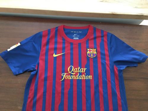 4291e1bab3e43 Camiseta Barcelona - Poco Uso - Talle 12 - Ori Gi Nal Usada