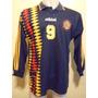 Camiseta Fútbol Deportivo Español Adidas 96 1996 #9 Utilería