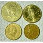 Uruguay:lote De 4 Monedas, Años 1978/98/2007/05- Miralas!!