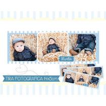 15 Foto Imanes 14x5cm Tira Fotográfica Souvenir Eventos