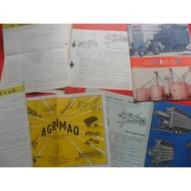 Folletos Sembradora Rastra Tractor Antiguo Agrimaq Manual