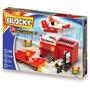 Blocky Bombero 3 -460 Piezas, 4 Muñecos -guia De Armado-5-10