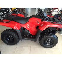 Honda Trx Rancher 420 0km 2015 4x2 Rojo Moto Sur
