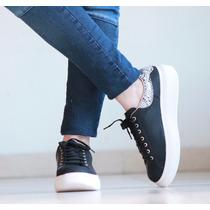Zapatillas Sneakers Plataforma Urbanas Altas Moda Mujer 2016
