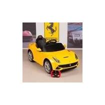 Nuevo Ferrari F12 A Bateria Control + Mp3 2 Veloc