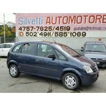 Chevrolet Meriva Gl Plus 2009 Azul