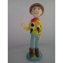 Toy Story Adorno De Torta En Porcelana Fria- Woody