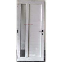Puerta De Aluminio Linea Modena Hermética 0.80 X 2.00