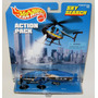 Hot Wheels Dirigible Policia Ladron Action Pack Solo Envios