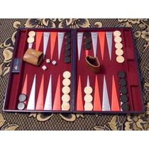 Antiguo Juego Backgammon Nis Premium 61 X 45 Ataché Envíos