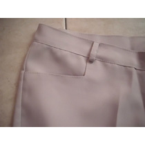 Pantalón De Vestir En Tela Mecanica