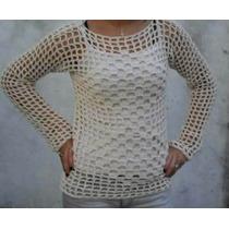 Cubreremeras Tejido Al Crochet Hilo Rustico