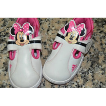 Unicas Zapatillas Adidas Minnie Con Abrojo