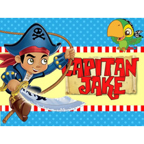 Kit Imprimible Candy Bar Capitan Jake Y Los Piratas Y Mas