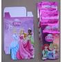 Princesas Disney 20 Sobres Tarjetas Cartas Cerrados + Poster