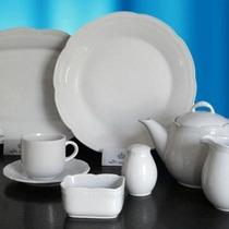 Juego Porcelana Tsuji 84 Piezas Linea1800 Recta Ss