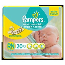 Super Oferta! 20 Pañales Recien Nacido Pampers Extra Suave