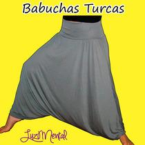 Babuchas Turcas,arabe Yoga Vrs Talles Grandes Cintura Ancha